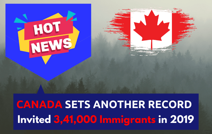 Canada Breaks Another Immigration Record