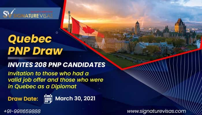 quebec pnp arrima draw invited 208 applicants