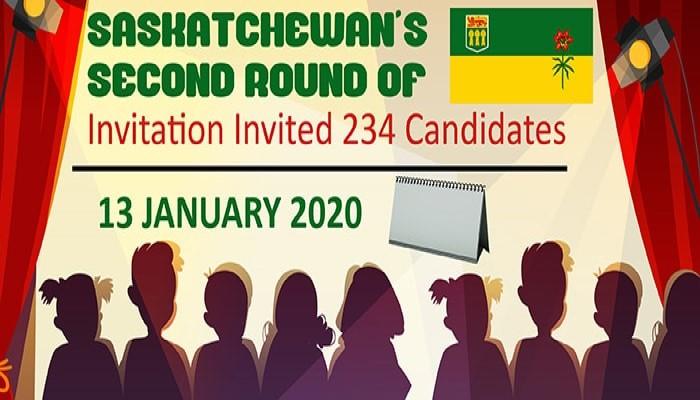 Saskatchewan Second Round of Invitation