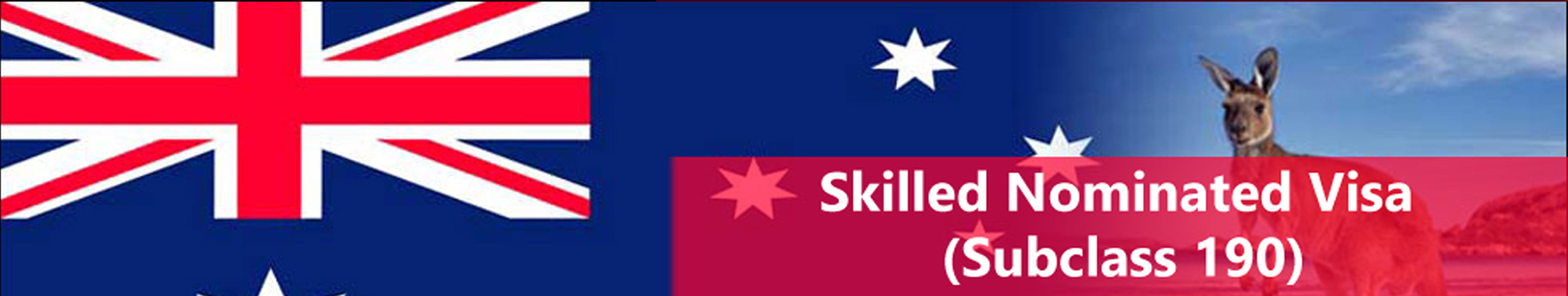 Australia Skilled Nominated Visa (Subclass 190)