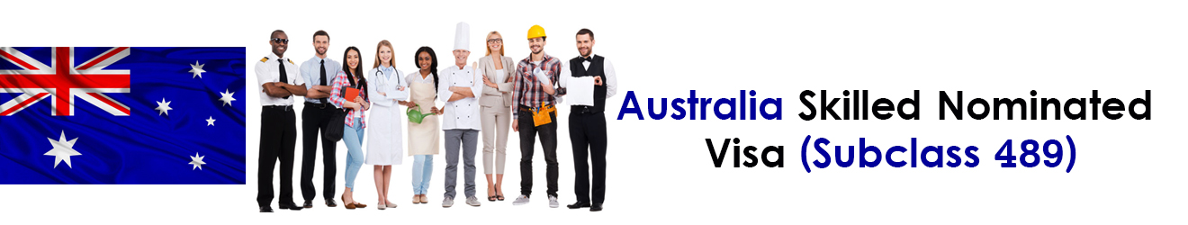 Australia Skilled Nominated Visa Subclass 489