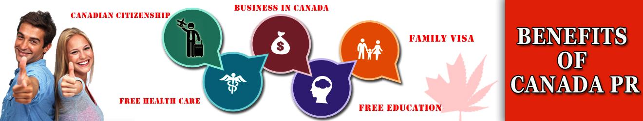 Benefits of Canada PR   Canadian Permanent Resident (PR) Benefit